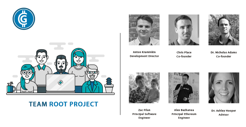 root project ico Team