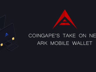 Coingape takes on ark wallet