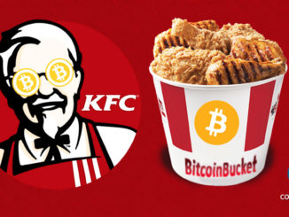 KFC canada accepting bitcoin as payment