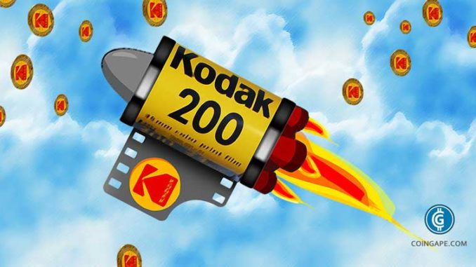 go to sign up page of kodak coin cryptocurrency