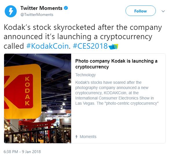 Kodak's Share Value Skyrockets