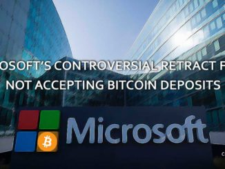 Microsoft's Controversial Retract on Accepting Bitcoin
