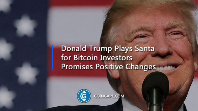 Trump Promises Positive Changes for the American Bitcoin Investors