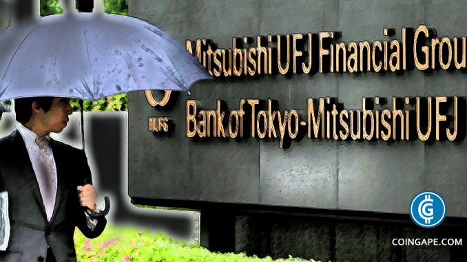 MUFG: Japan's Largest Bank to Launch its own Cryptocurrency & Exchange