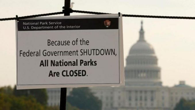 Will US federal govt. shut down effect Bitcoin Prices