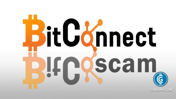 BitConnect Presents Yet Another Scam to Investors: BitConnectX ICO