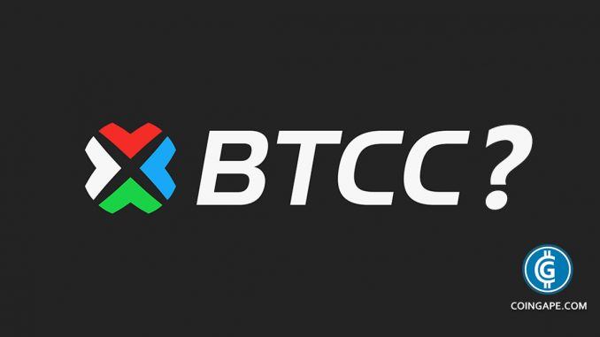 Unnamed Investment Fund Acquires Bitcoin Giant BTCC