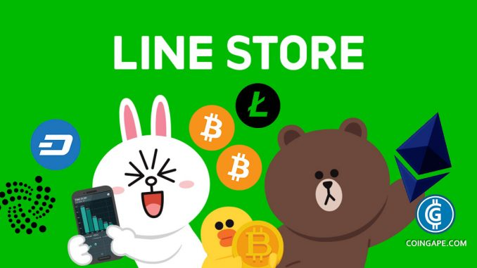 Japan Messaging App Line To Launch Its Cryptocurrency Exchange