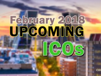 Upcoming ICO in February 2018