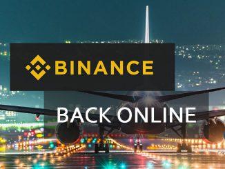 Binance Back Online After An Extended Software Upgrade
