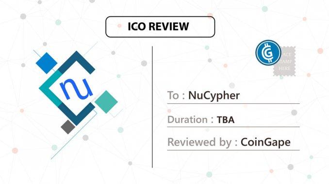Nucypher ICO
