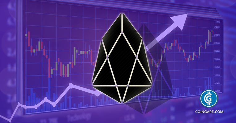 EOS Price Analysis: EOS/USD is on the Move to $10 Rendezvous Point