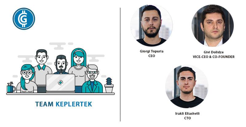 Keplertek ICO - Team