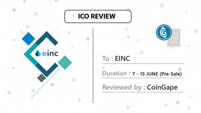 Etherinc ICO - Einc