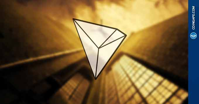 Tron (TRX) Does Wonders In Bear Markets as Reaches 100 mn Transactions And Launches 39 Dapps
