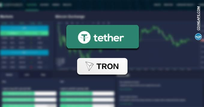 TRON Partners Tether with Big Deal of Launching New Stablecoin on Tron Blockchain