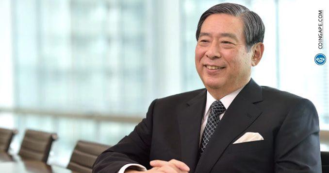 Yoshitaka Kitao CEO SBI Holdings