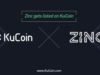 kucoin listed zinc