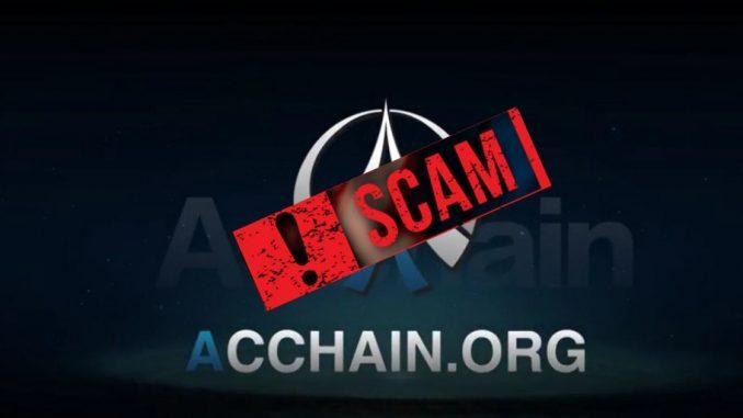 ACChain Scam