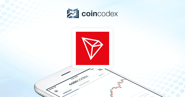 100,000 TRX Giveaway of CoinCodex in collaboration with Tron Foundation