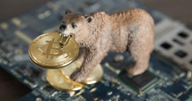 Cratering Cryptocurrency Starts to Worry Bitcoin Investors
