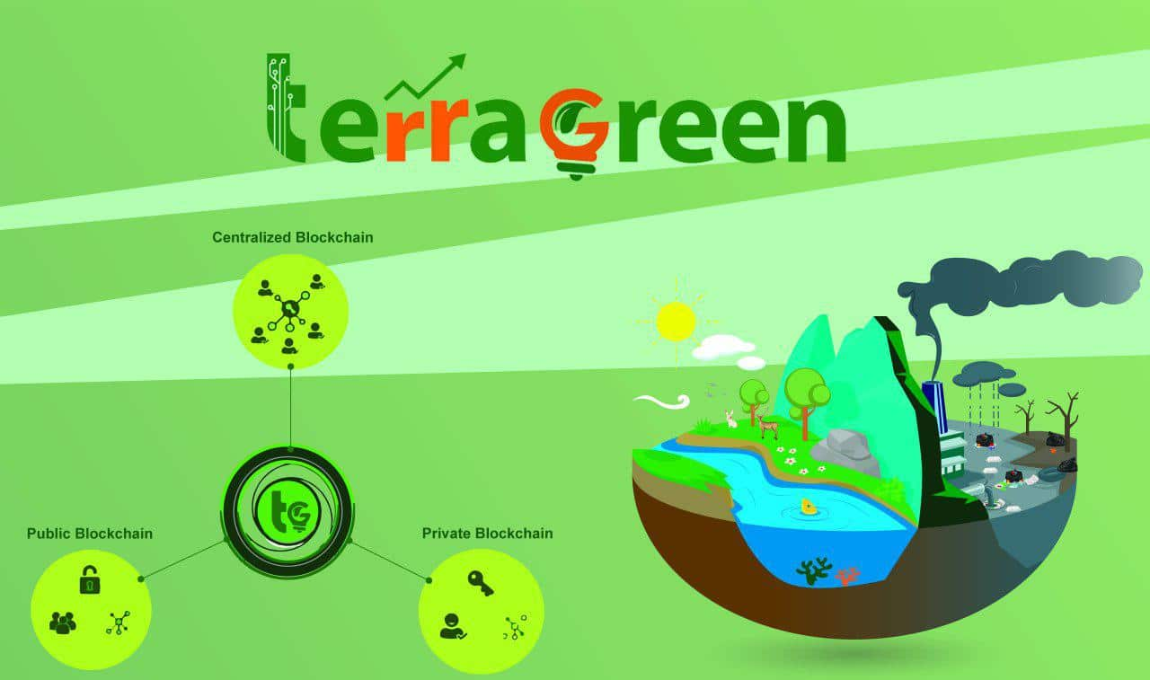 Blockchain Pillars of TerraGreen Coin-fidence