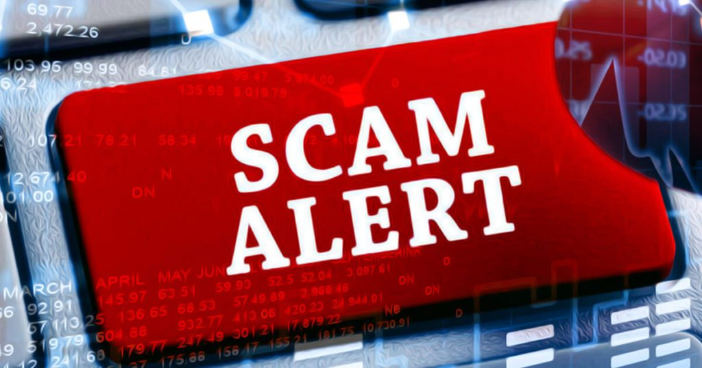 New Cryto Scam Caught & Suspended on Social Media – Founder Warns