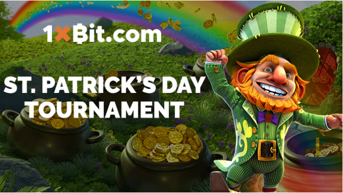 1xBit invites players to celebrate St. Patrick's Day in New Tournament