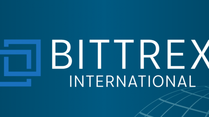 cryptocurrency exchange bittrex announced