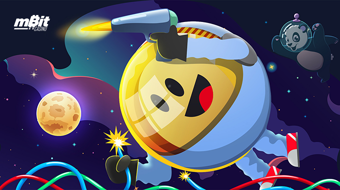 Astronomical May Promotion at mBitcasino!