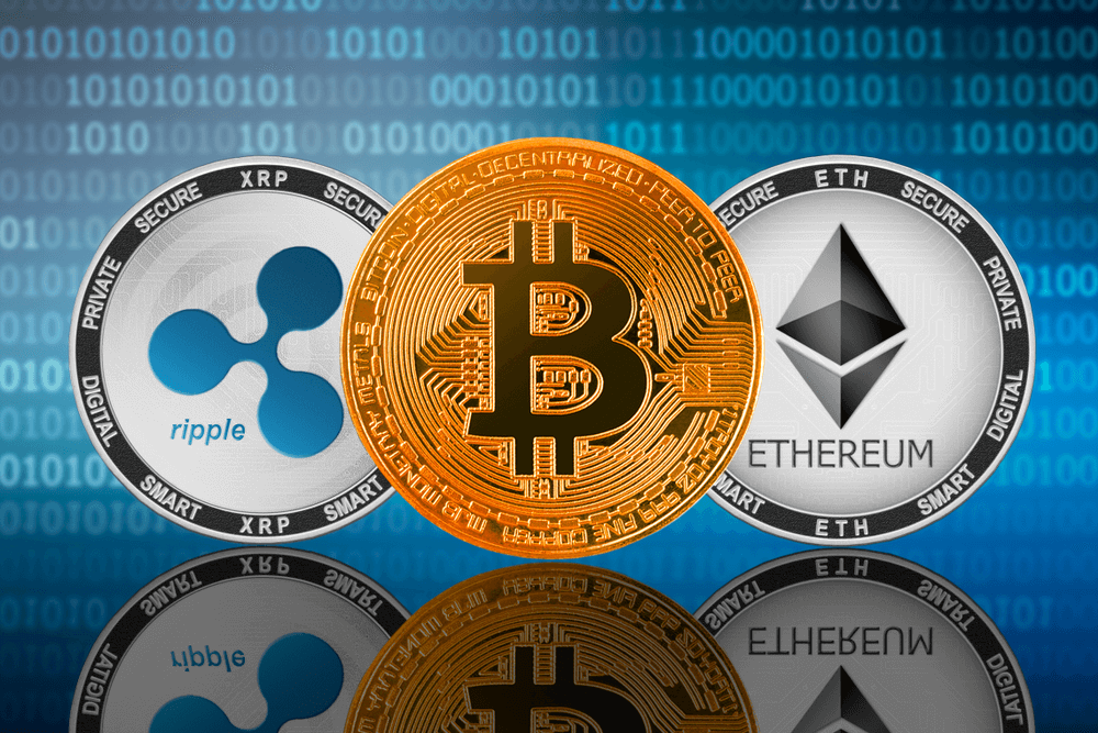 Ripple's XRP and Ethereum Race for 2nd Place Behind Bitcoin In The Wake of a Bull Run