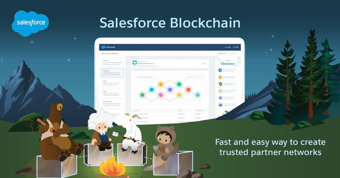 Salesforce Blockchain – Million Developer Backed Platform launching Blockchain Solutions