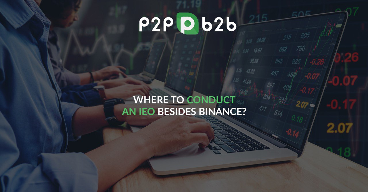 p2pb2b ― another exchange to run IEO on, apart from Binance
