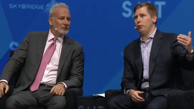 barry silbert vs peter schiff
