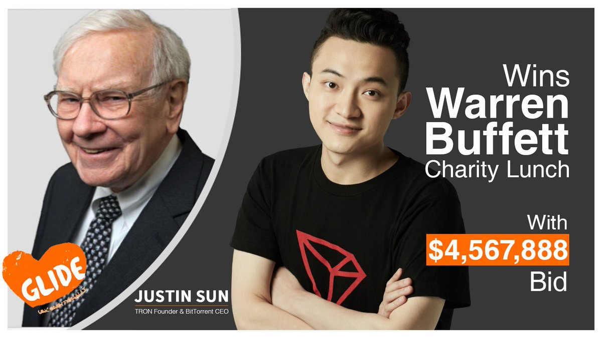 Binance CEO Turns Down Justin Sun's Invite to a Lunch with Warren Buffet