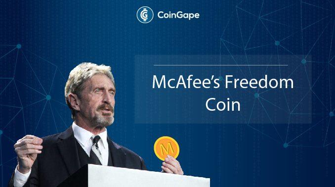 John Mcafee Freedom coin