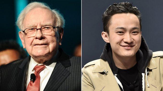 Warren Buffett Justin sun