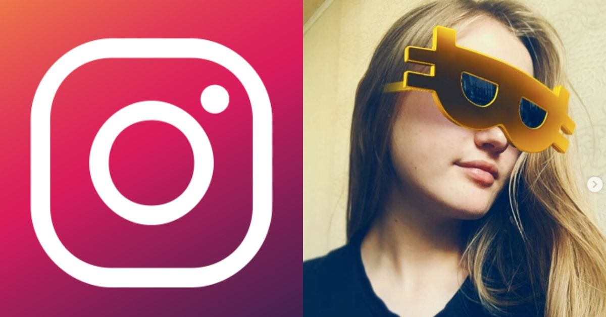 First Ever Bitcoin Filter Appears On Instagram, Here's What Users Do With It...