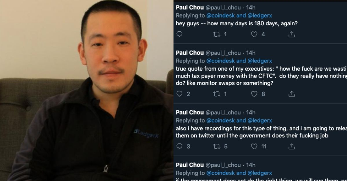 LedgerX CEO's Angry Tweets Reveal What Went Wrong with Bitcoin Futures