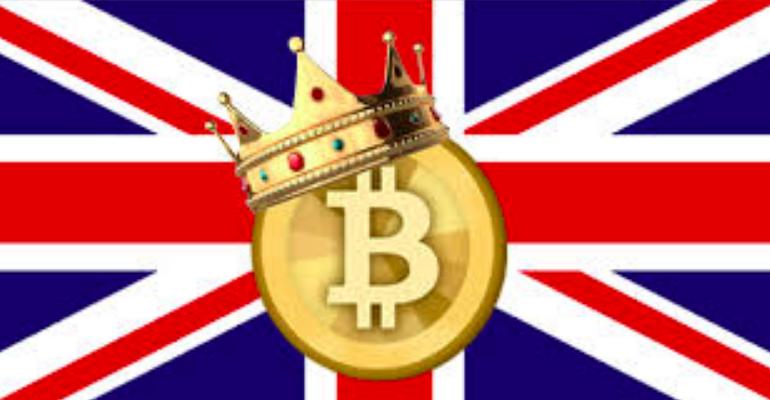 Bitcoinas tvyro akimirksniais kaip brexit