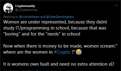 Does the Crypto Space Really Need More Women? A Realistic Take