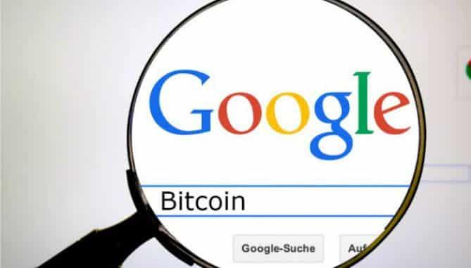 Bitcoin google search