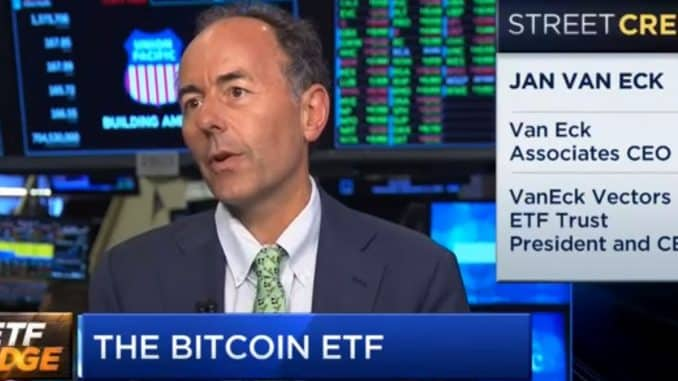 Bitcoin etf Jan Van Eck