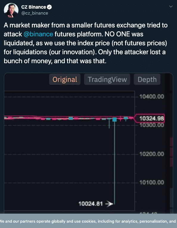Binance attack