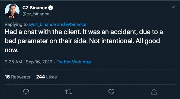 Binance Attack