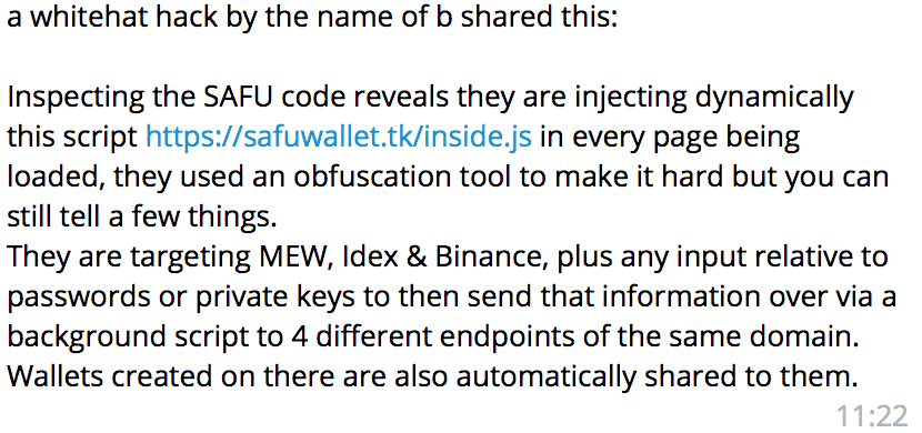 Safu wallet