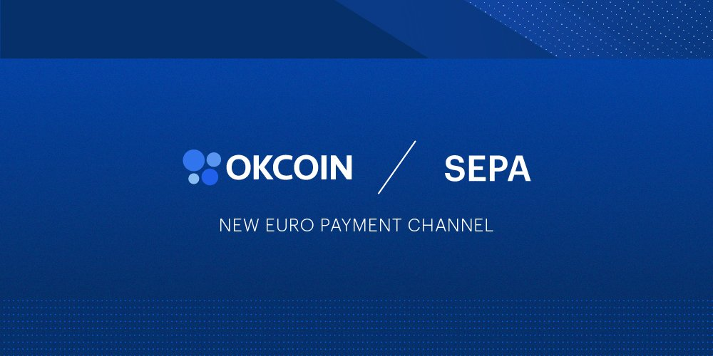 OKCoin Adds SEPA Payment Gateway; Zero Fee on Deposits & Withdrawals for European Users