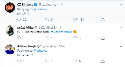 Breaking- Binance Enables P2P Trading For Binance Coin [BNB] In China