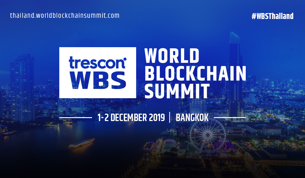 Trescon's 14th World Blockchain Summit to Debut in Thailand This December