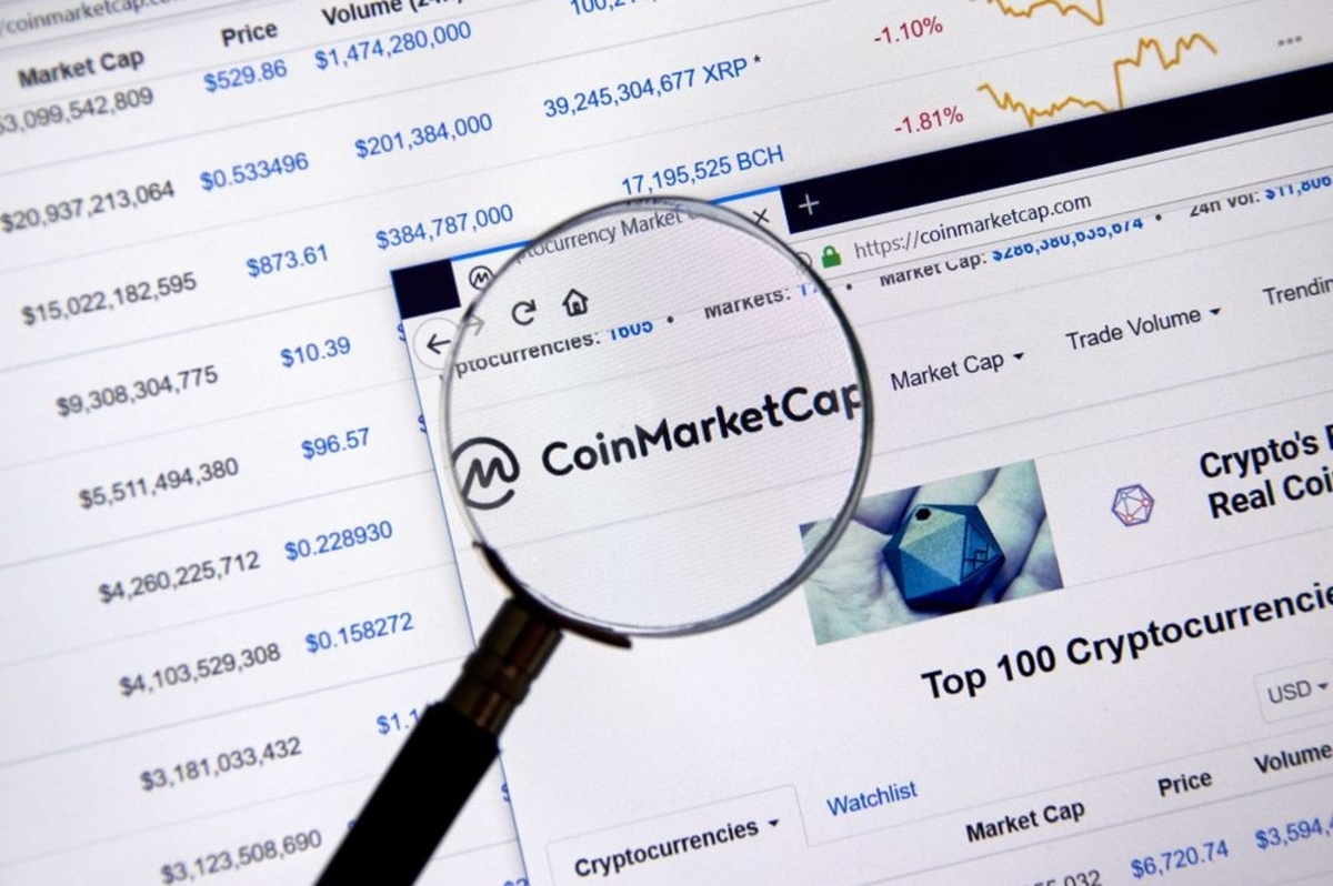 CoinMarketCap and Yahoo Finance Partner on Cryptocurrency Market Data